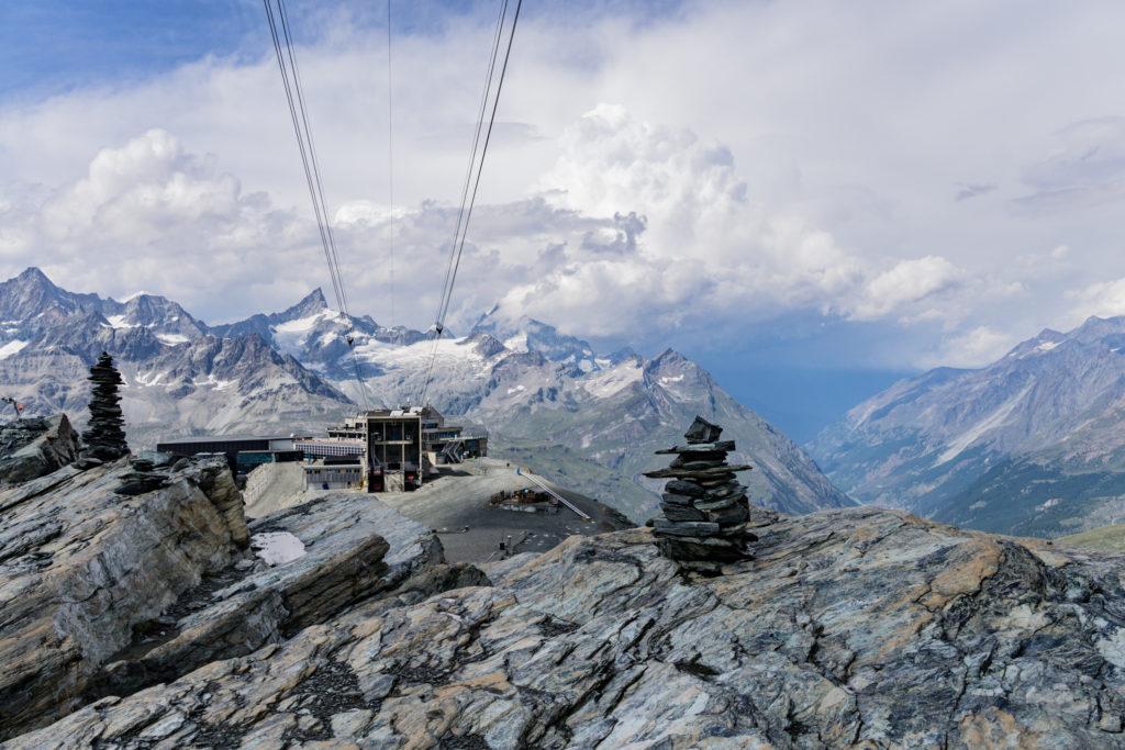 Bergbahn Wallis Trockener Steg